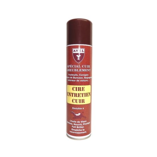 Воск для гладкой кожи Cire Entretien Cuir Avel 400мл sphr4037