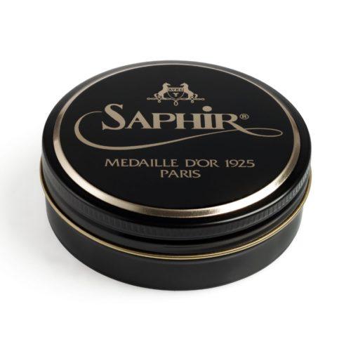 Гуталин для обуви Pate de Luxe Saphir Medaille D'or, 50мл sphr1004