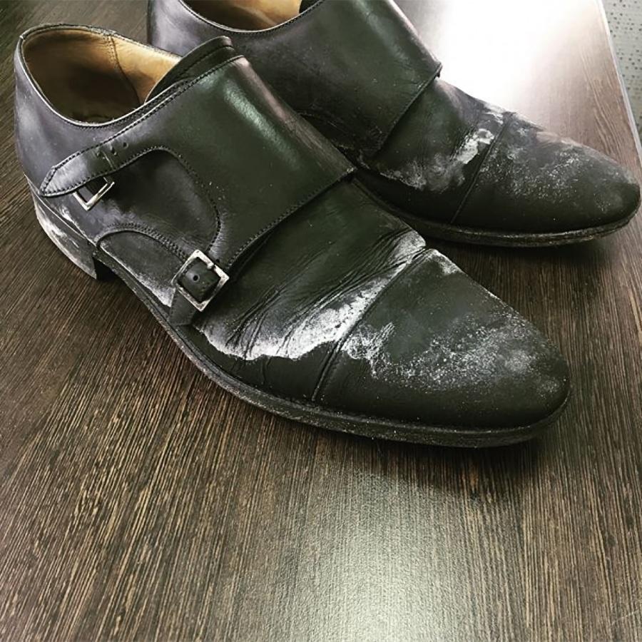 Выведение соли и реагентов из обуви