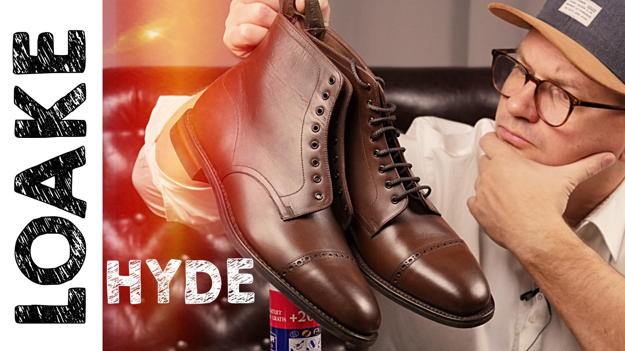 Мужские ботинки на зиму LOAKE HYDE